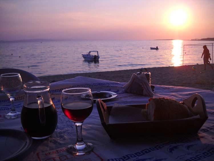 Последний вечер в Греции перед отъездом