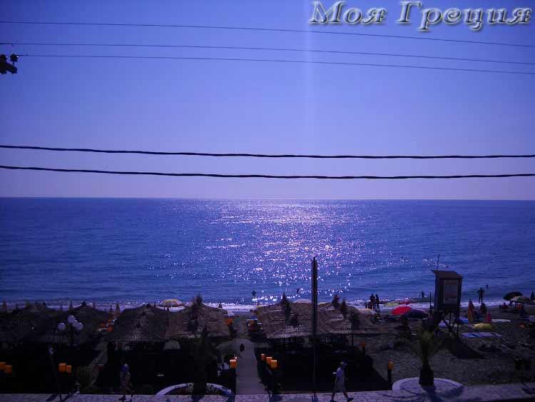 Рассвет на Эгейском море