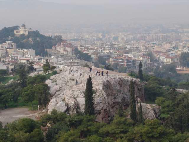 Холм Ареопаг, Афины