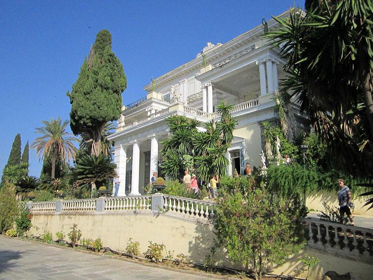 Дворец императрицы Сисси, Корфу