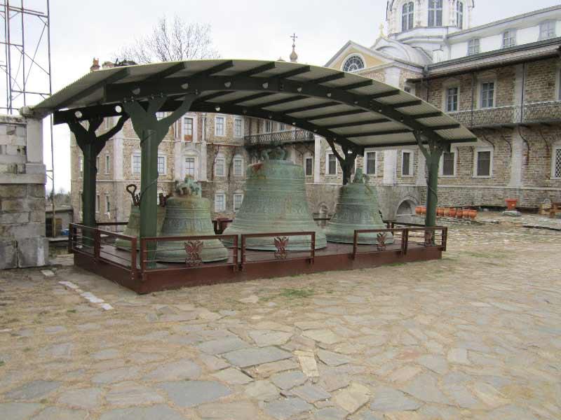Колокола в  Андреевском ските