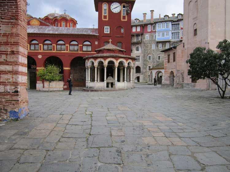 Монастырь Ватопед, Святой Афон