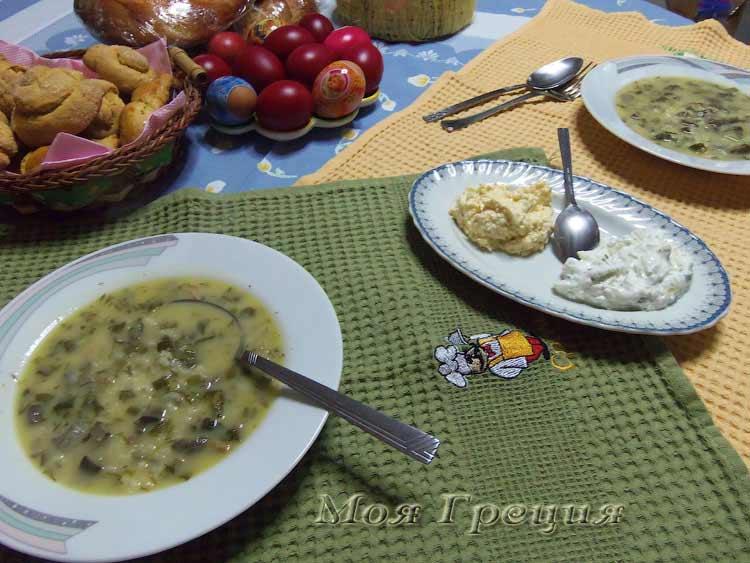 Магирица - пасхальный суп