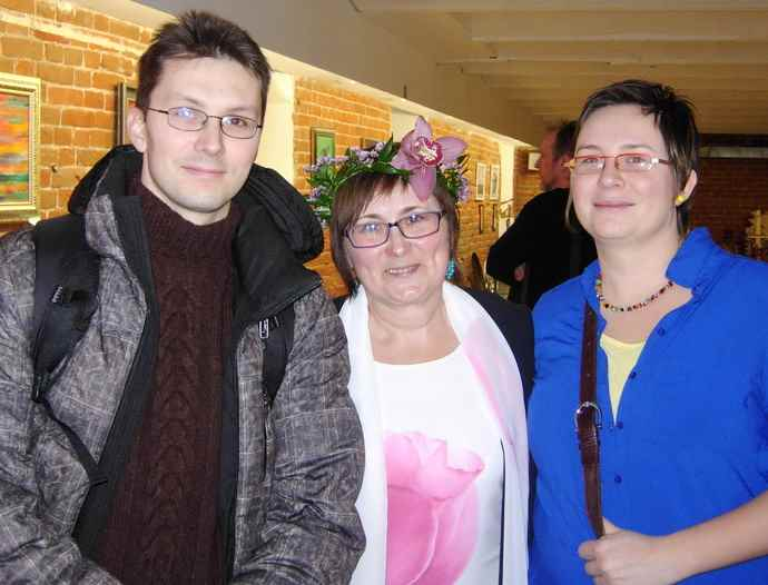 Наталья Берязева с детьми