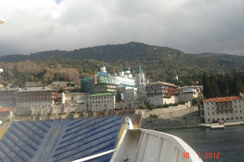 Курс на Свято-Пантелеймоновский монастырь