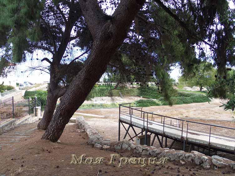 Амфитеатр у храма Зевса-Аммона