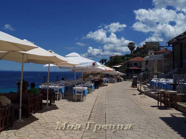 Таверны на набережной Афитоса