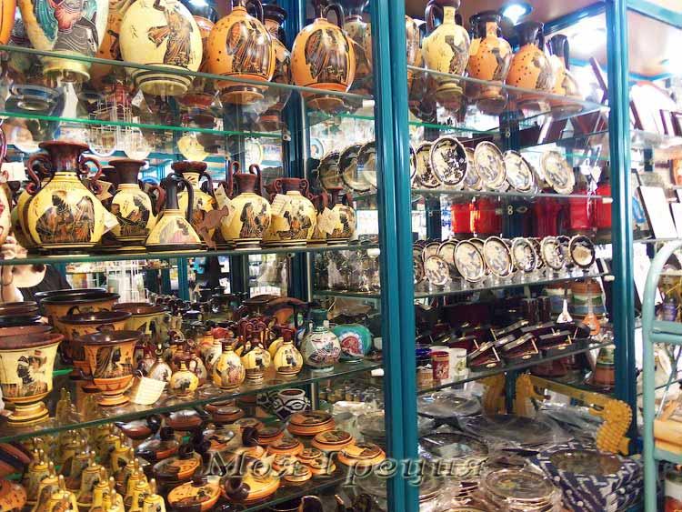Греческие сувениры - керамика