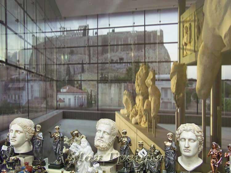 Akropolis - греческие сувениры в Неа Муданья