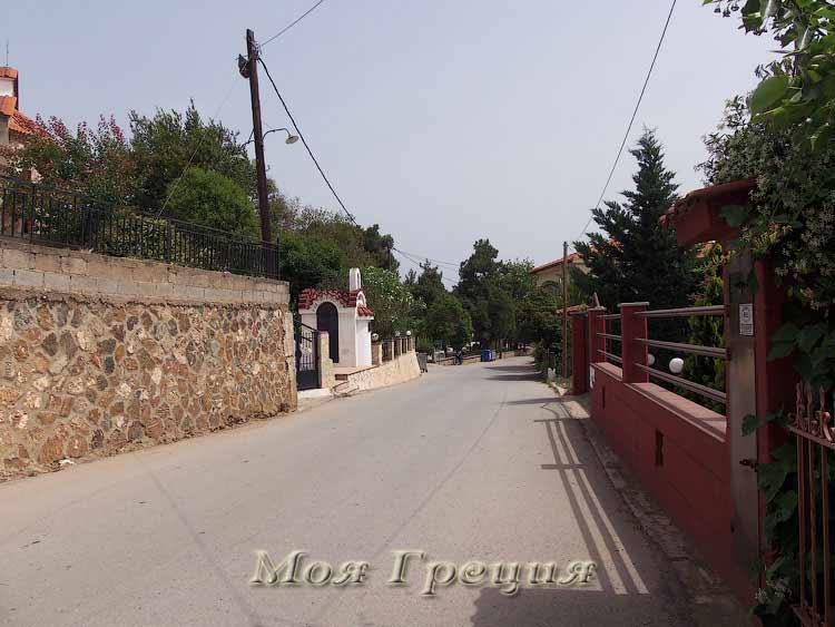 Улица в Агиос Мамас