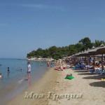 Пляжи Ситонии. Берег Монашки — Акти Калогрияс