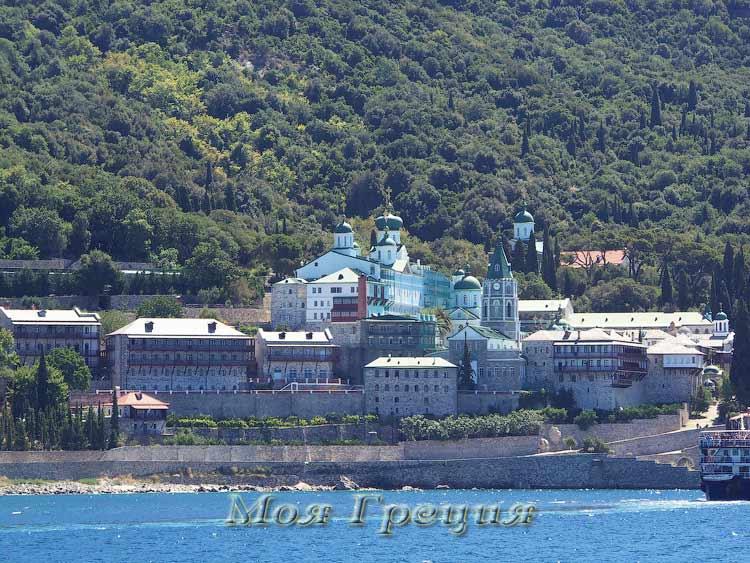 Русский монастырь Св. Пантелеймона, Святой Афон