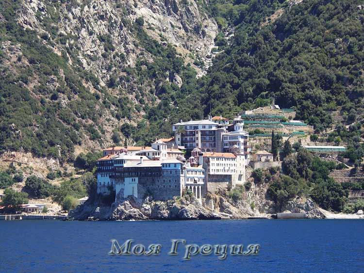 Монастырь Григориат, Святой Афон
