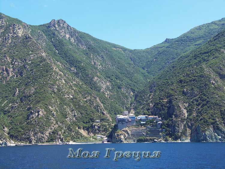 Монастырь Дионисиат, Святой Афон