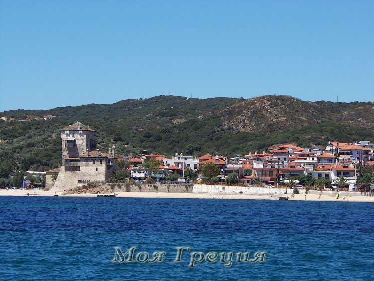 Урануполис с моря