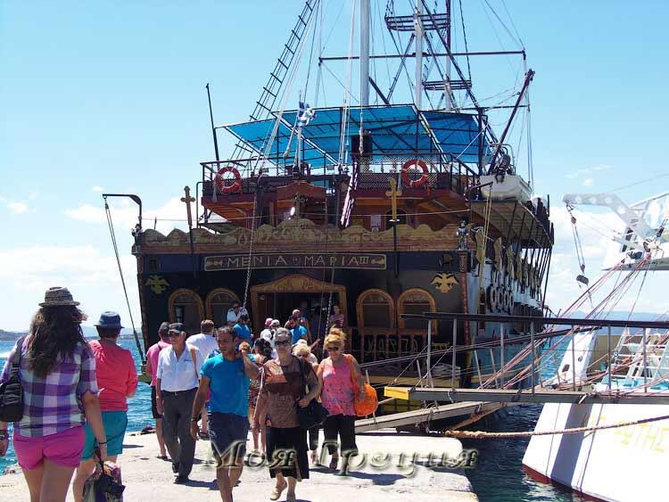 """Люди входят и выходят... Пиратский корабль """"Мения и Мария"""""""