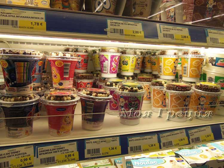 Детские йогурты ФАГЕ