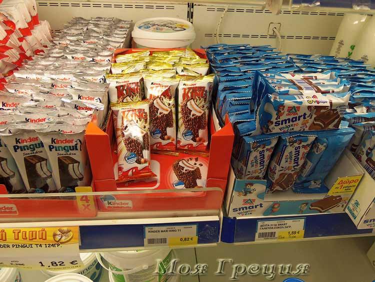 Молочные батончики в шоколаде