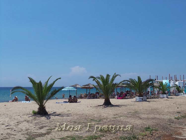 Пляж у Мирамаре