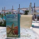 Miramare — кафе на пляже Паралии Дионисиу