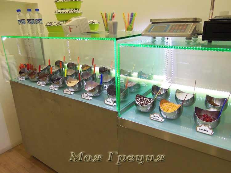 Гарнир для мороженого