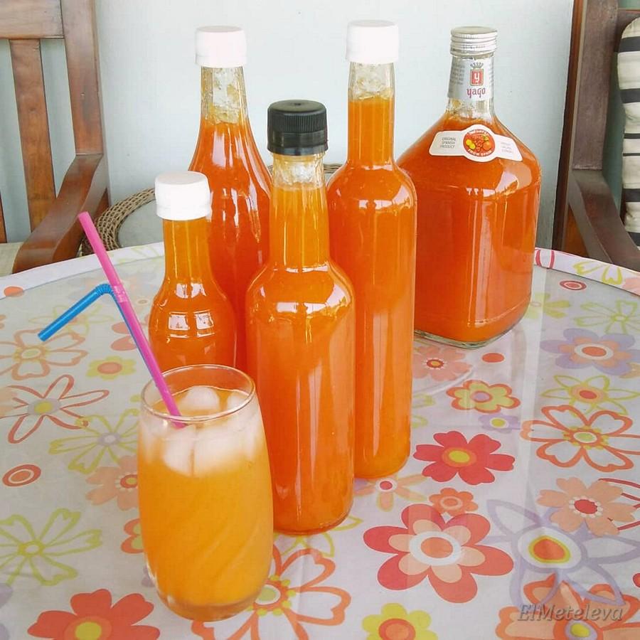 Наш домашний абрикосовый сок