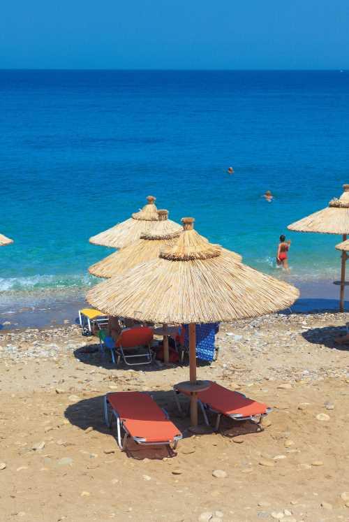 Прекрасные пляжи Греции