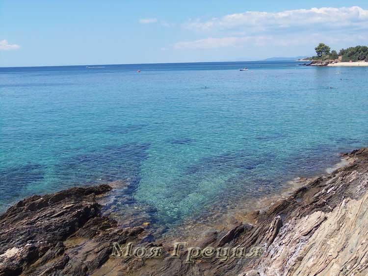 Побережье Лагомандра - один из лучших пляжей Ситонии