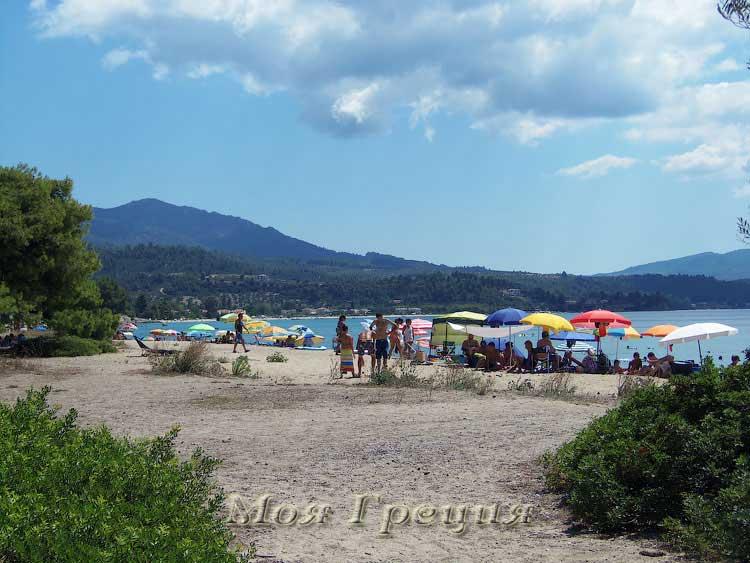 Дикий пляж Лагомандры