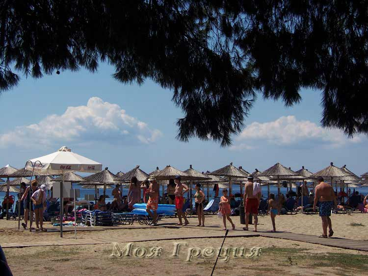 Северный пляж Лагомандры