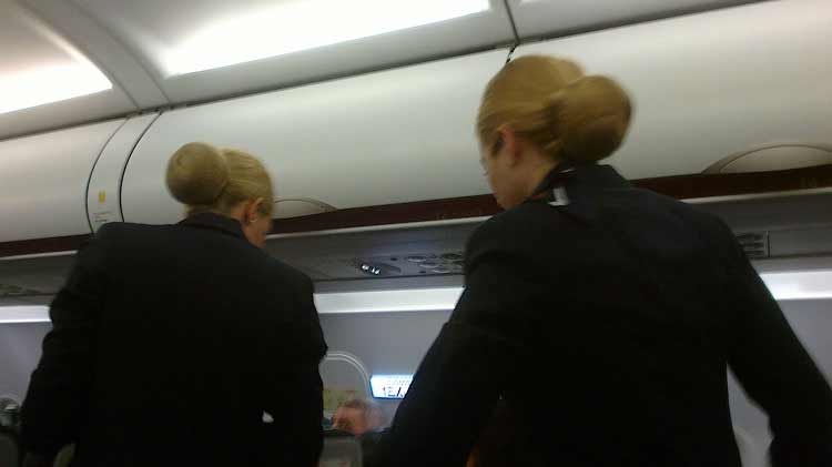 Греческие стюардессы