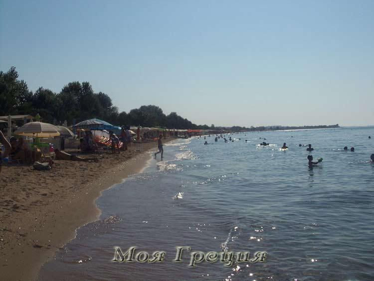 Афгустовский пляж во Флогите