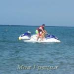 Летний день на пляже в Неа Флогита