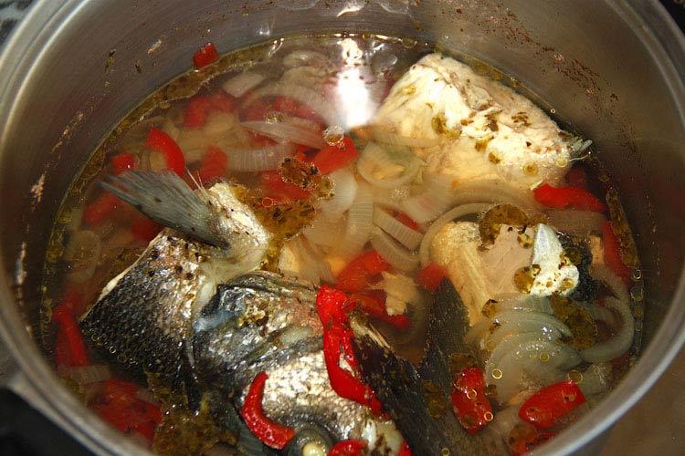 Рыбный супчик