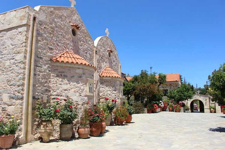 Монастырь Св. Ирины, Крит