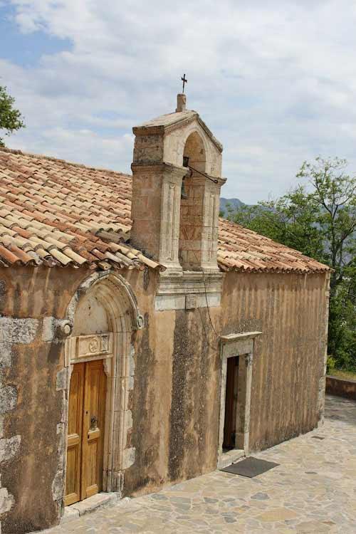 Церковь Успения Пресвятой Богородицы, Меронас