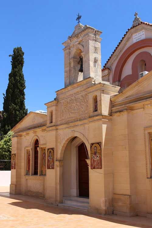 Монастырь Богородицы Каливьяни, современные строения