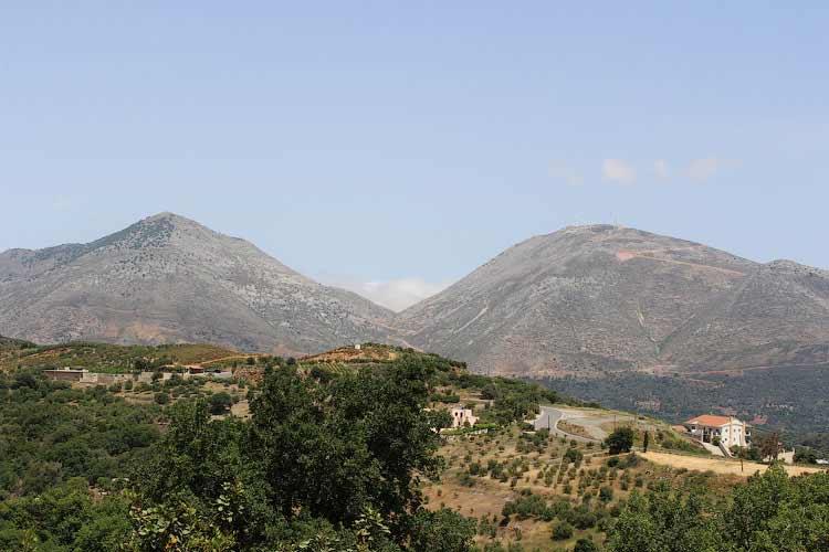 Вид на горы Ида (Псилоритис)