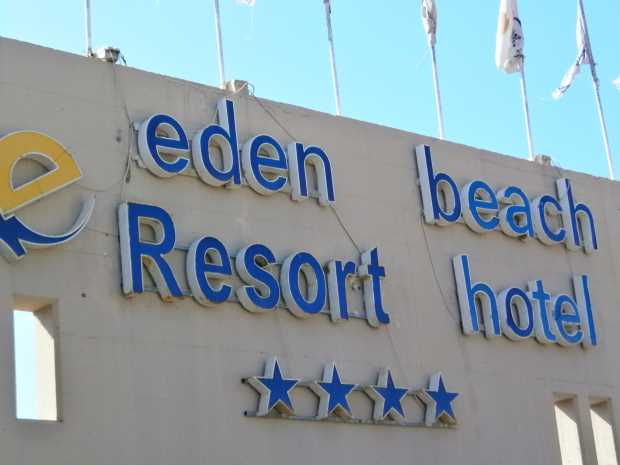 Eden Beach Resort hotel, Анависсос