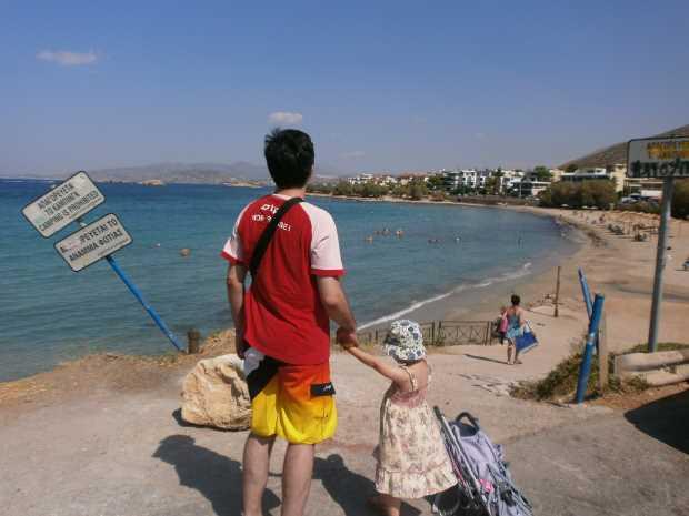 Пляж в Анависсос
