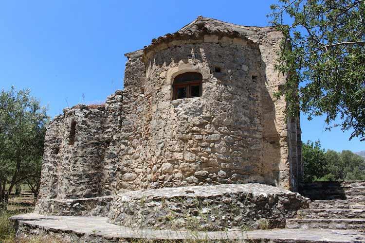 Храм Св. Анны, Крит