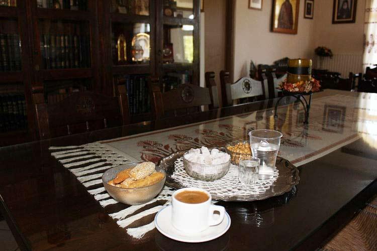 Угощение в монастыре Св. Ирины