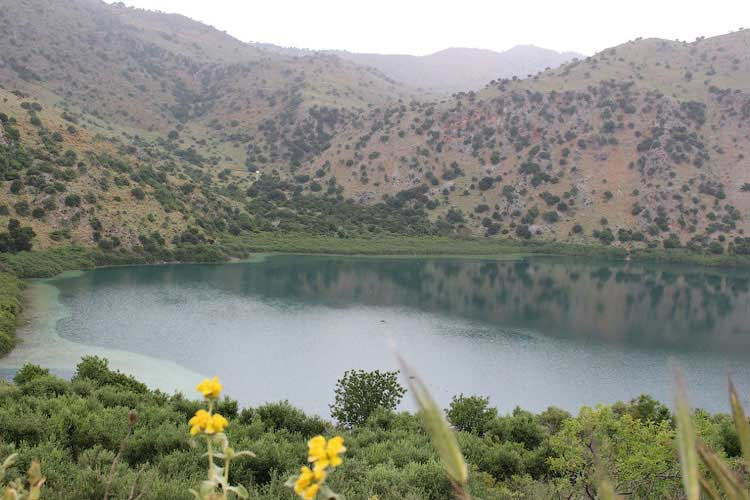 Озеро Курна, Крит