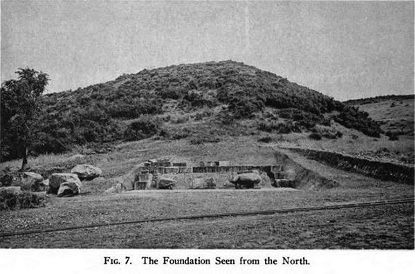 Начало раскопок в Амфиполе