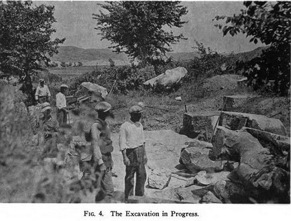 В процессе раскопок в Амфиполе