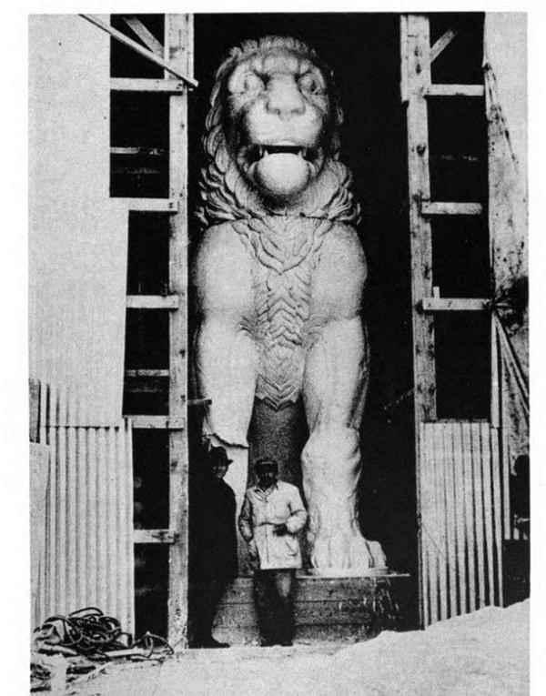 Собранный Амфипольский Лев.