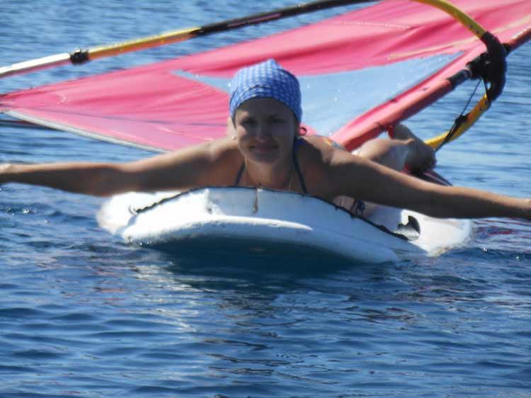 Серфинг в Уранополисе