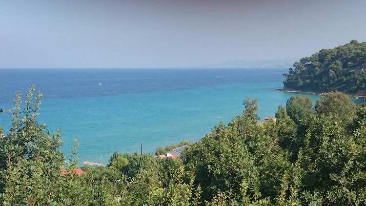 Вид с высокого берега Калифеи