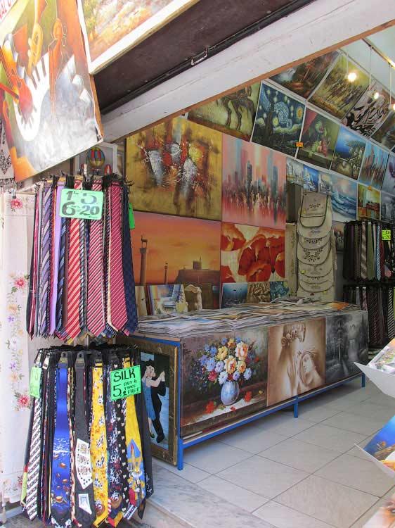 Сувениры на Родосе
