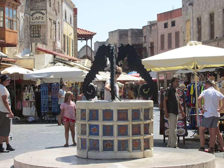 Старый Город на Родосе